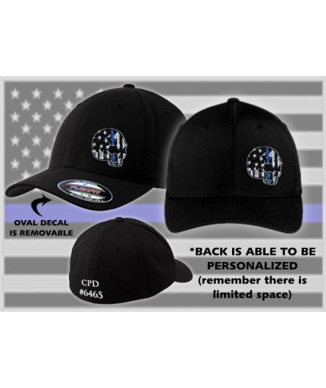 FLEXFIT - THIN BLUE LINE FLAG HAT