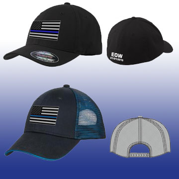 Thin Blue Line Family Hats
