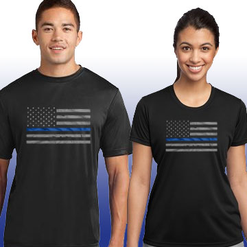 Thin Blue Line Family Shirts