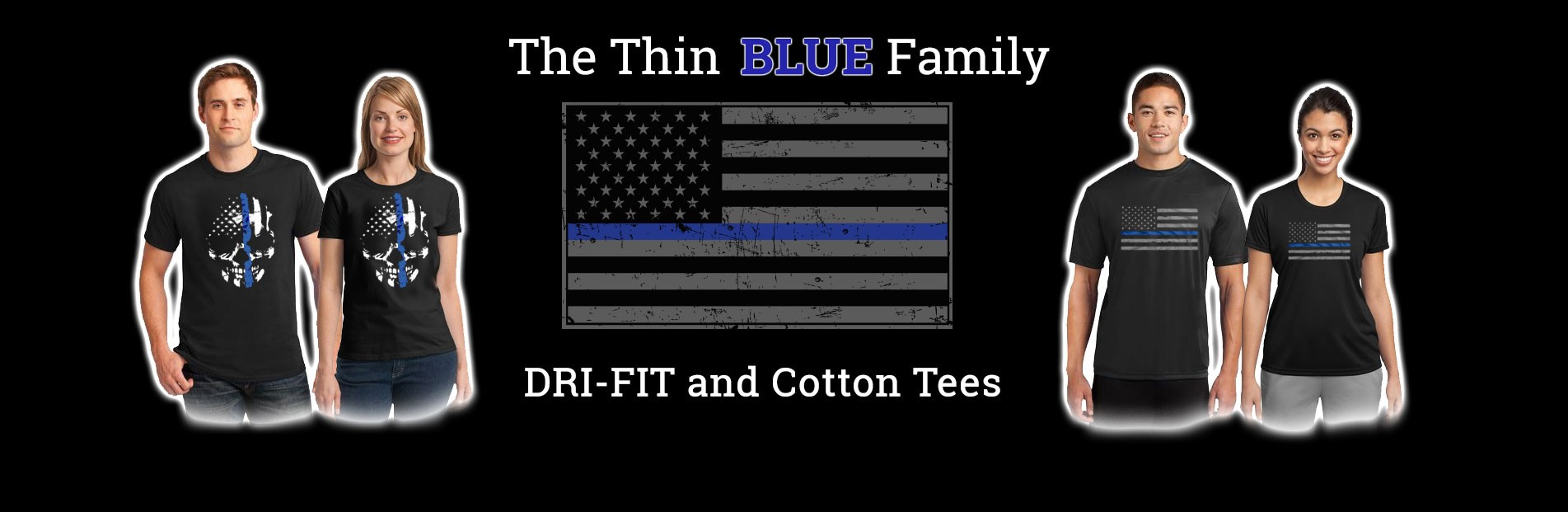 Thin Blue Line Family T-Shirts