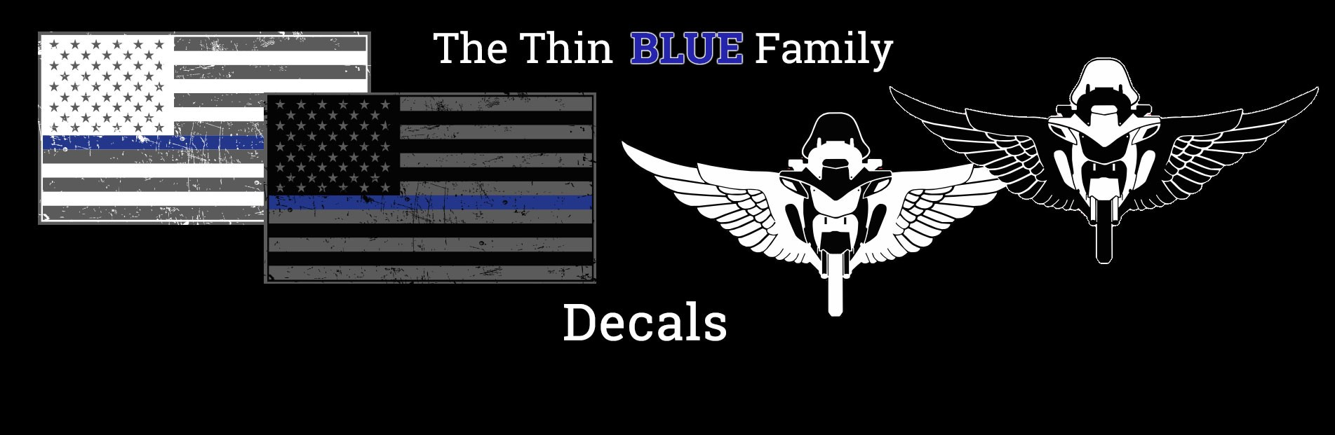 Thin Blue Line Family Decals